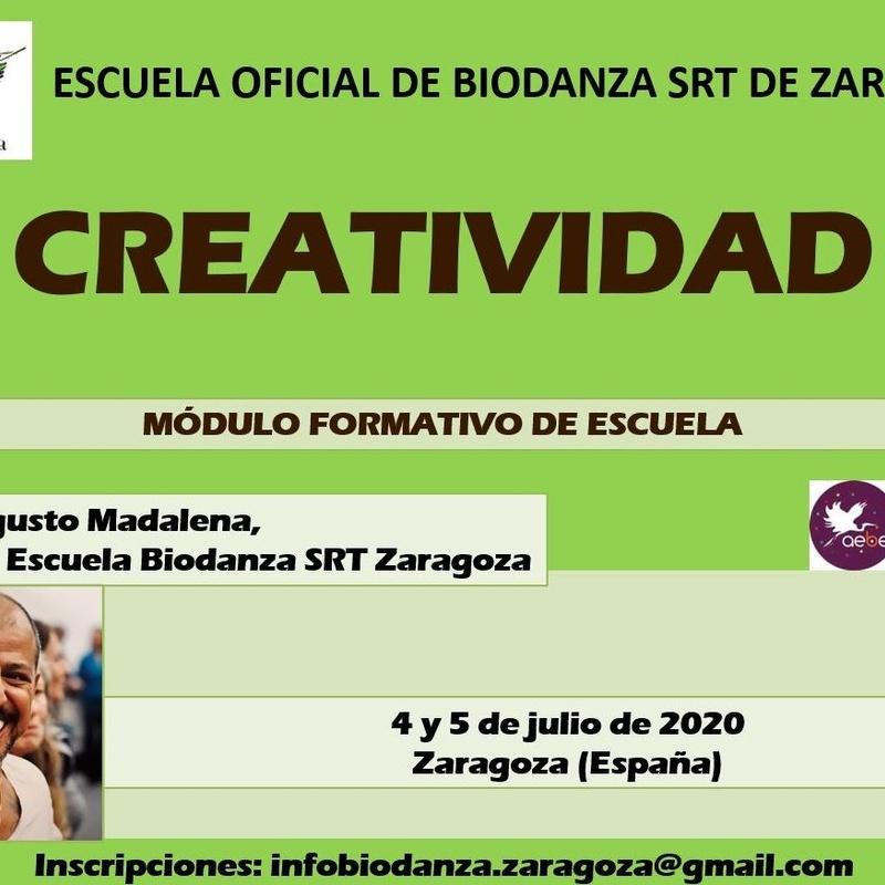 Módulo de Formación Creatividad: CURSOS de Augusto Madalena