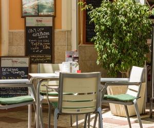 Terraza de la Cafetería Imperial