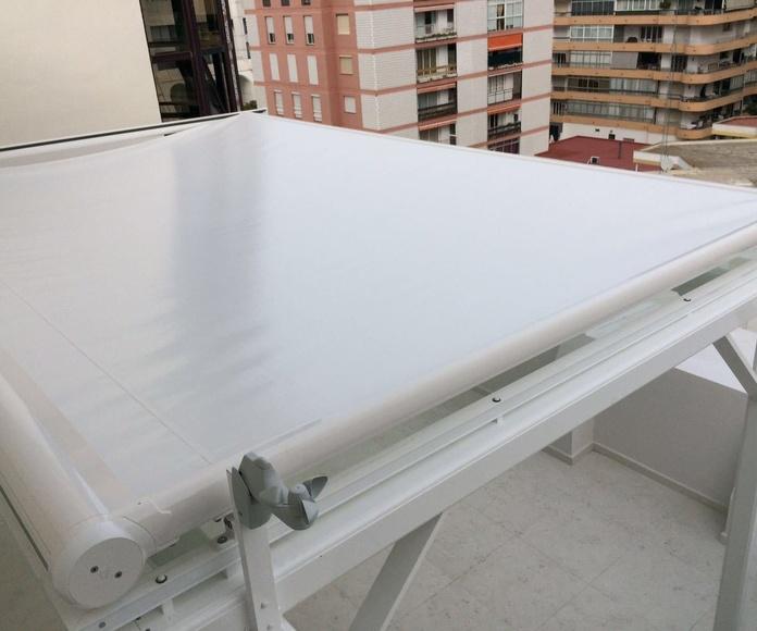 Pergolas de Aluminio: Catálogo de Aluminios Aludecor Marbella