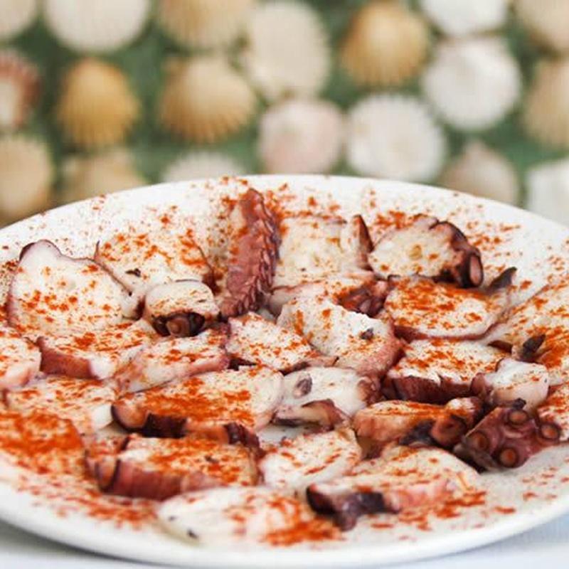 Sugerencias del chef. Raciones de marisco: especialidades de Bar Bolos