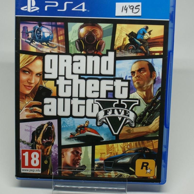 PS4 GRAND THEFT AUTO V: Compra y Venta de Ocasiones La Moneta