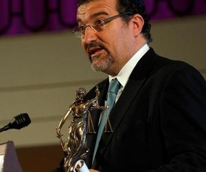 """Recogiendo Premio Mejor Despacho """"Premios de Ley 2.016"""" Hotel Palace Madrid"""