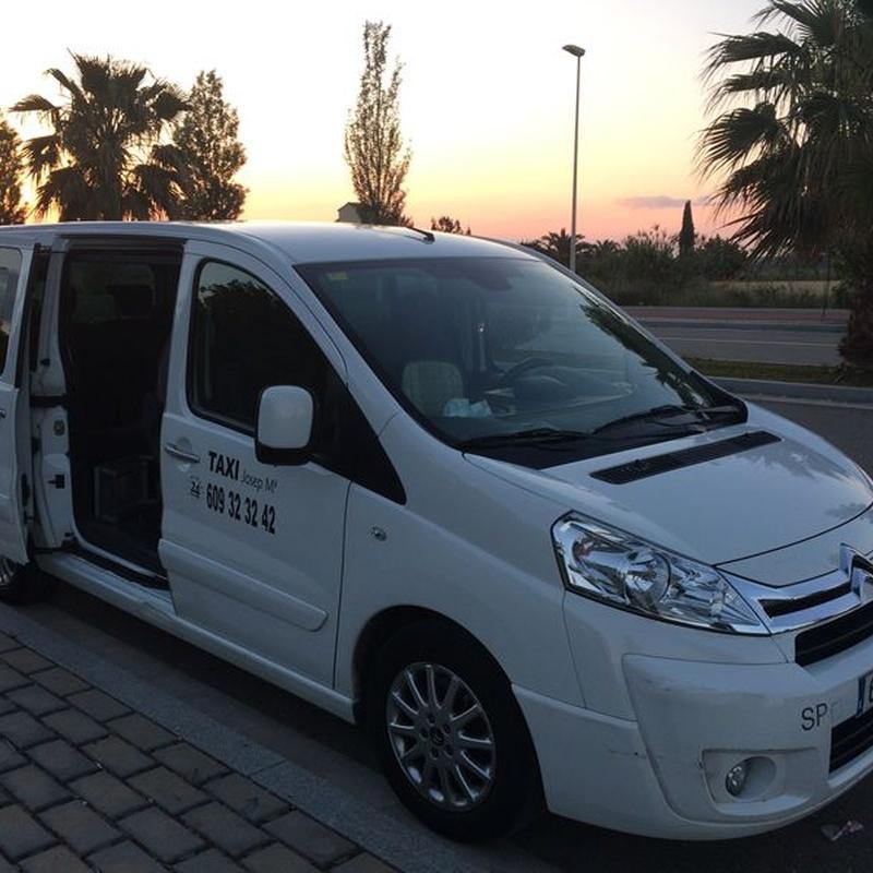 Colegios: Servicios de Taxi Josep María
