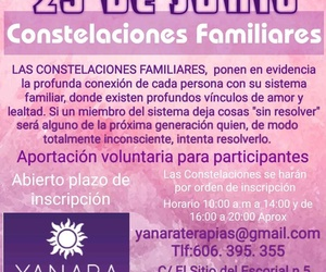 CONSTELACIONES FAMILIARES 29 DE JUNIO