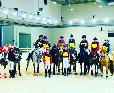 Exhibición en Madrid Horse Week