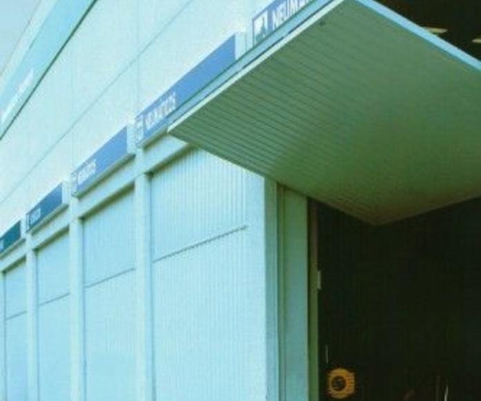 Puertas Industriales: Productos de Cerrajería ACU, S.L.