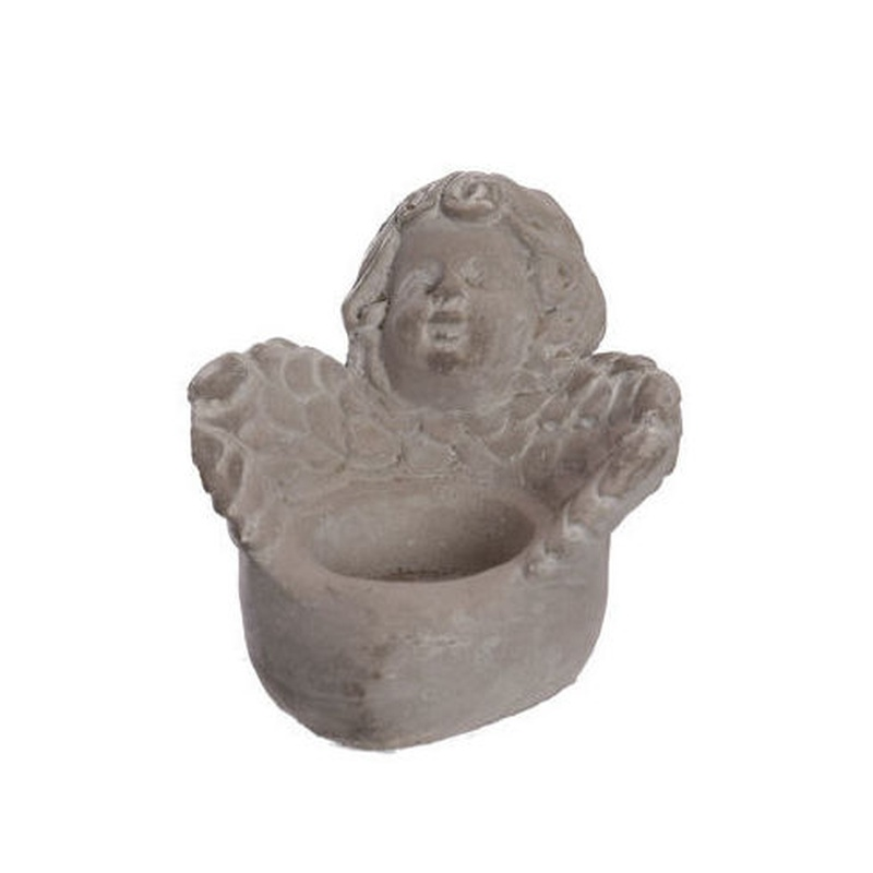 PORTA VELA CON FORMA DE ANGEL / GRIS REF: 469110090/GREY PRECIO: 3,50€