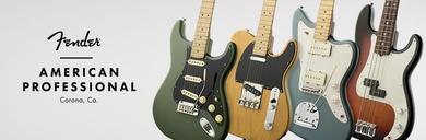 American Professional, la serie de Fender que sustituye a la American Standard