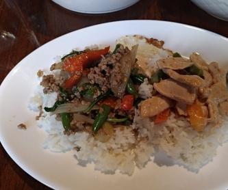 Fideos de soja: Amplia carta de Padthai Restaurant