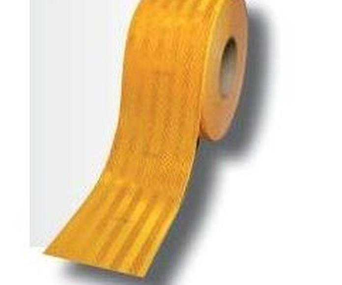 3M 98371ECE cinta adhesiva contorno V23 amarilla 55 mm x 50 m: Productos de Sucesor de Benigno González