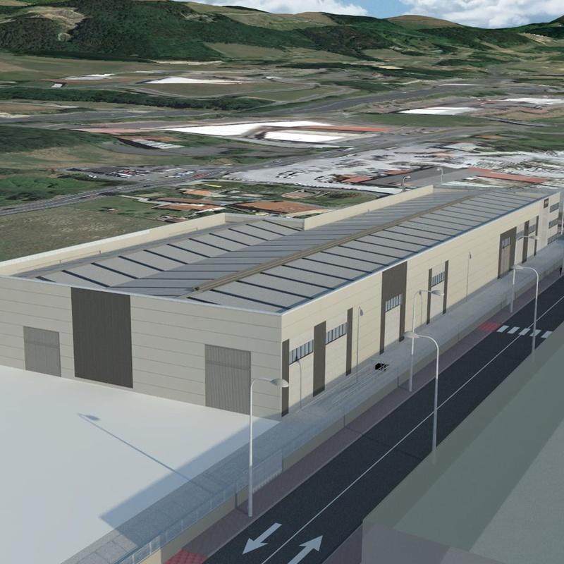 NUEVA NAVE INDUSTRIAL Y DE OFICINAS. TROGER. SAPUI ARRIANDI B. P. 2A-2B: Servicios y proyectos de Maurtua Arquitectos
