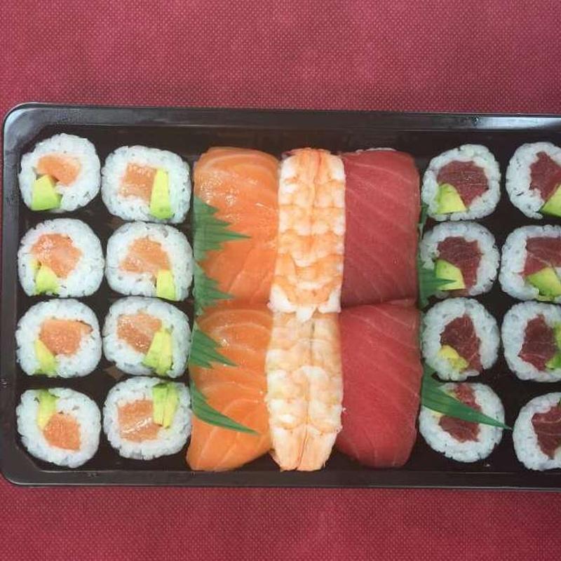 Menú 7: Especialidades y menús de Sushikai Tarraco