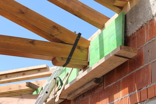 Armadura de madera para cubierta