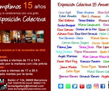 EXPOSICIÓN 15 ANIVERSARIO DE BCM ART GALLERY