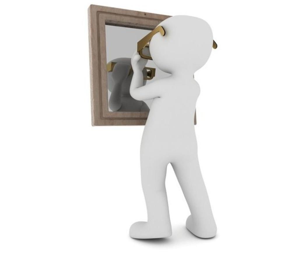 Reutiliza un espejo roto