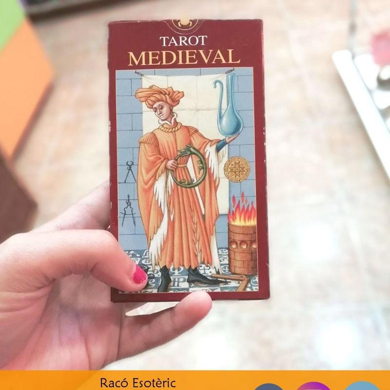 Tarot Medieval: Cursos y productos de Racó Esoteric Font de mi Salut