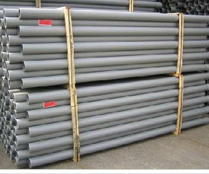 PVC evacuación compacta (UNE EN 1329): Servicios de Plastics Castells, S.A.
