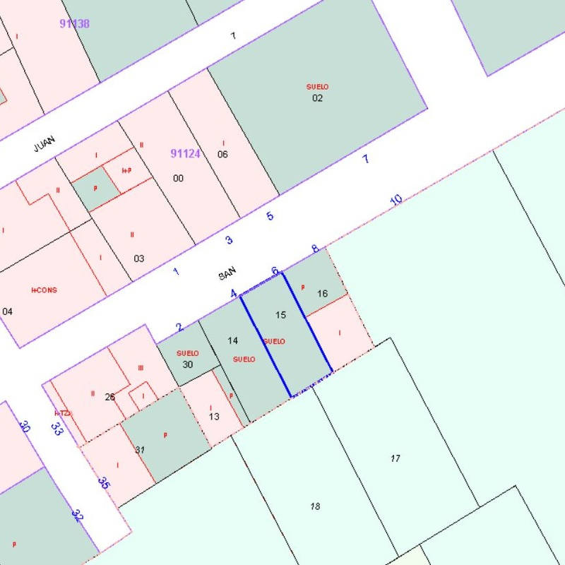 SOLAR EN CL. SAN JUAN, 8ª TRAVESÍA: Asesoría e Inmobiliaria  de ASESORES ARROYO DEL OJANCO