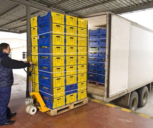 Transporte de alimentos en Málaga