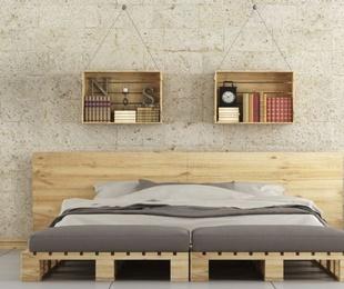 Palets decorativos, toda una moda para tu hogar