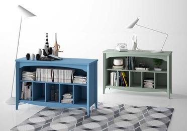 Mobiliario para salones estilo vintage