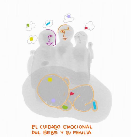 El cuidado emocional del bebé y su familia