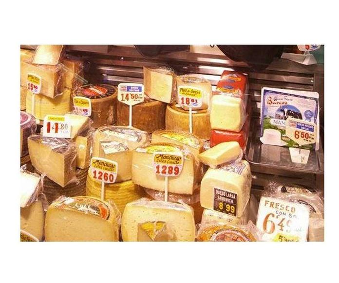 Quesos: Productos de Charcutería Llorente