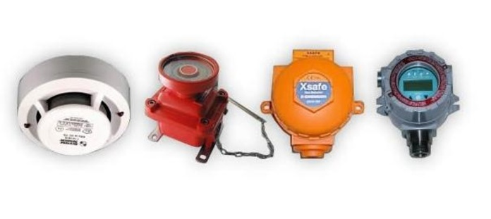 Zonas Atex - Detectores de incendio de seguridad intrínseca