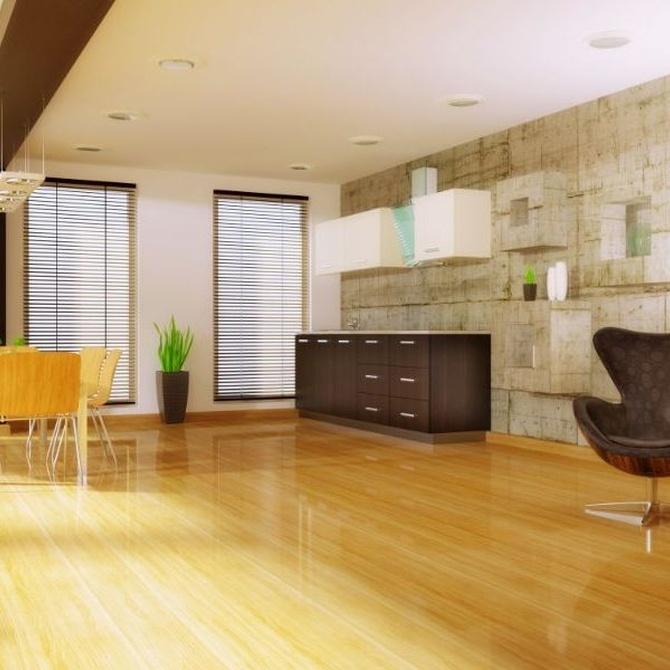 ¿Es adecuado un suelo de parquet para mi casa?