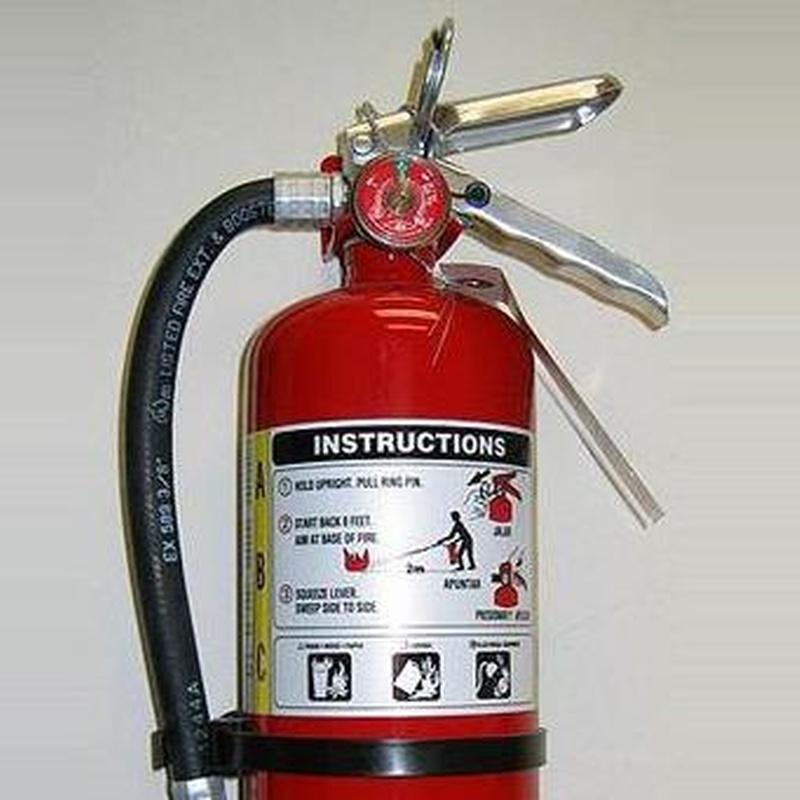 Extintores: Productos y servicios de Ignífugos Técnicos Engofer