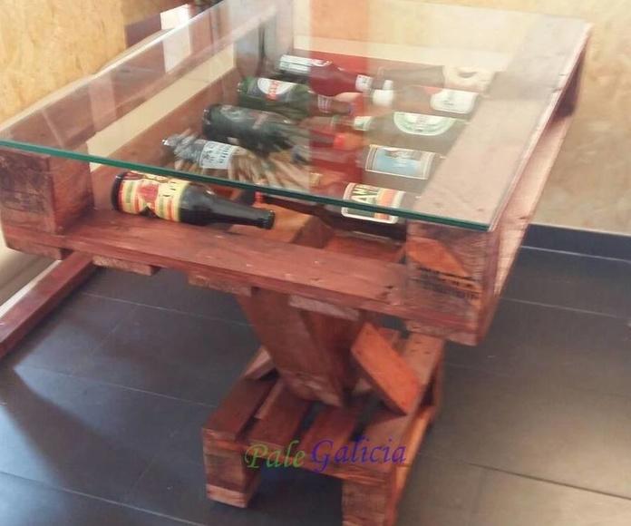 Mesas con Palets en Pontevedra