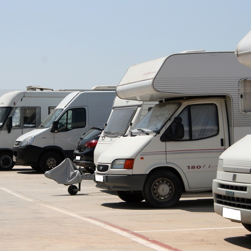 Parking de autocaravanas
