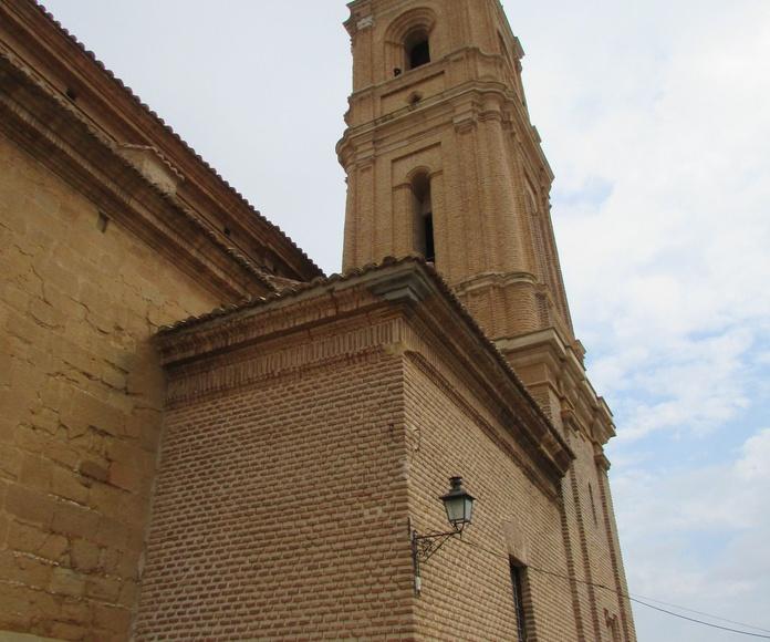 Iglesia Alloza - restauración campanas