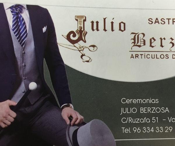 Sastrería en Valencia | Sastrería Julio Berzosa