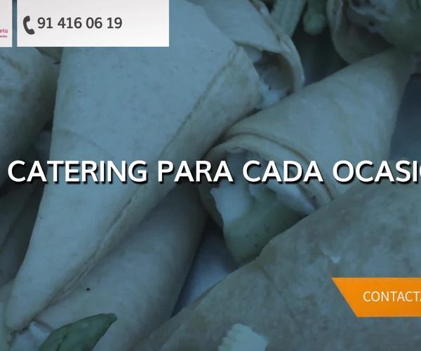 Servicio de catering en Madrid centro | Catering Ondarreta