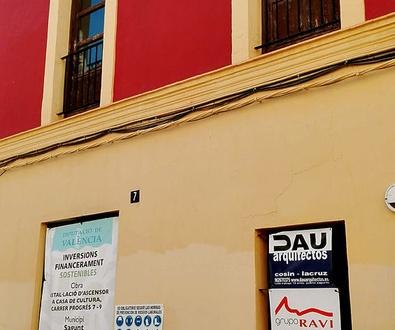 Mejora accesibilidad Casa de Cultura, Puerto de Sagunto.