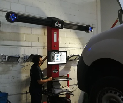 Verificación de alineador 3D