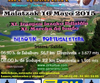 "XI marcha de fondo memorial ""Joserra"" Romaña Jr. - 16 de MAYO"