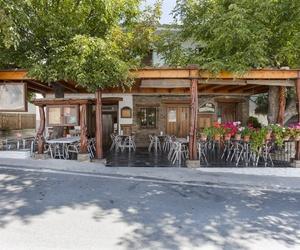Restaurante con terraza en Capileira