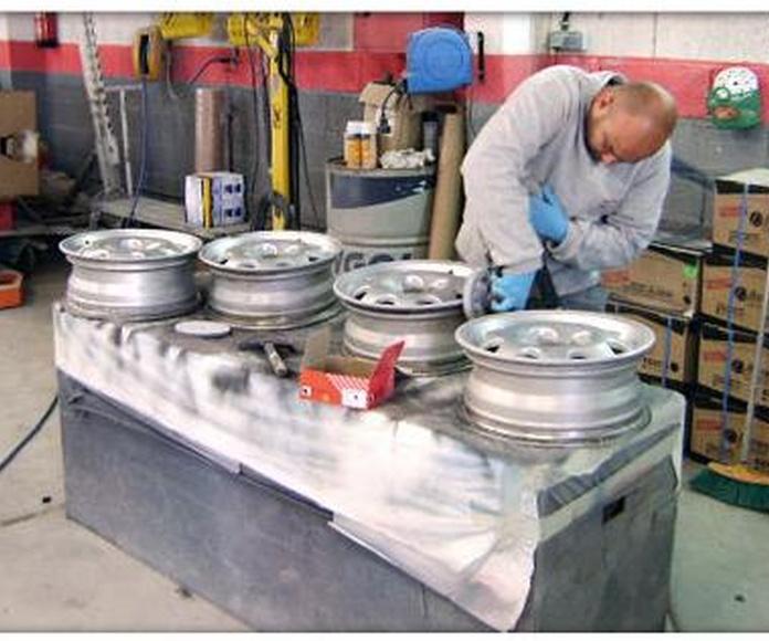 Reparación y Pintado: Servicios de Talleres Norte