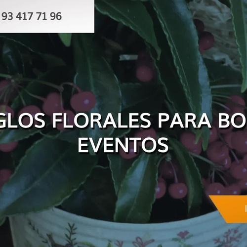 Flores para eventos en Sarrià-Sant Gervasi, Barcelona: Greenflor