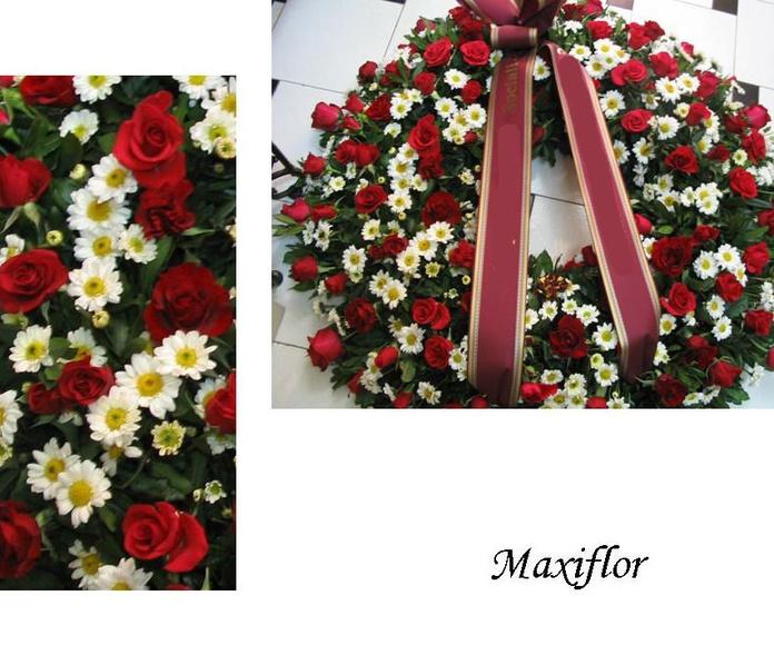 Coronas fúnebres: Catálogo  de Floristería Maxiflor