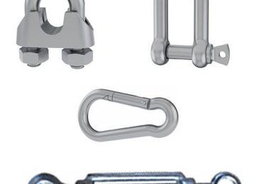 Cadena, cable, alambre y accesorios