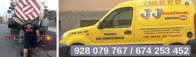 928 079 767 / 674 253 452. Desatascos en Las Palmas.