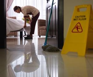 Limpieza a hostelería