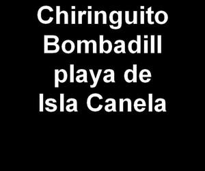 Chiringuito Bombadill en la playa de Isla Canela