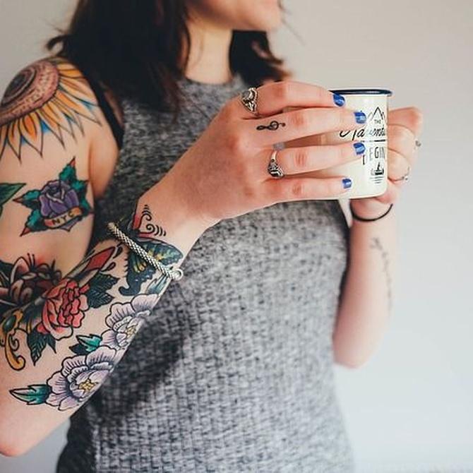 El significado de las flores en los tatuajes