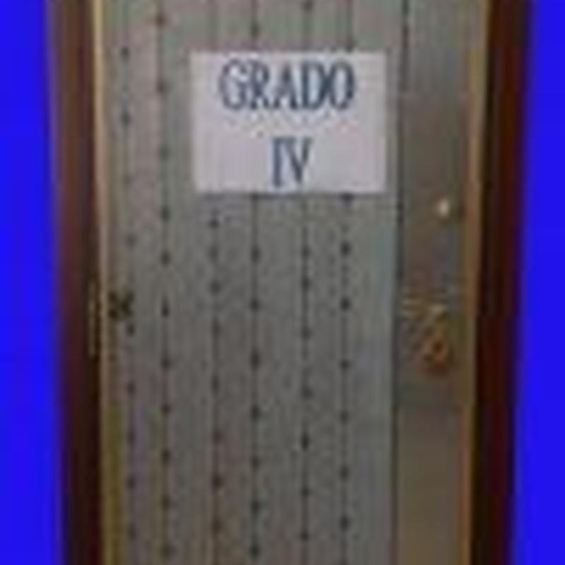 Puerta acorazada KIUSO grado efracción 4.