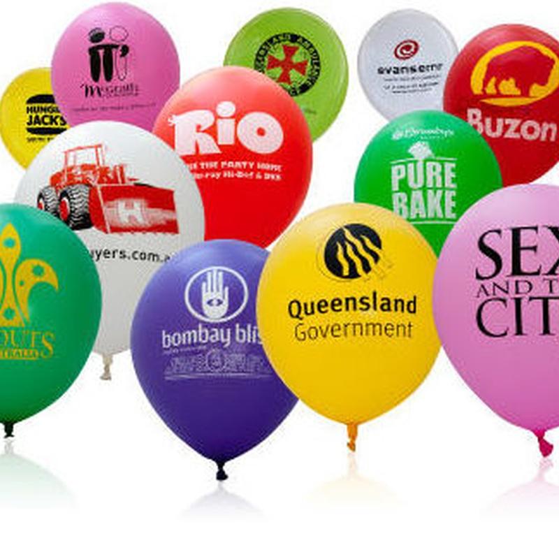 Impresión de globos: Productos y servicios de Copias Pradillo