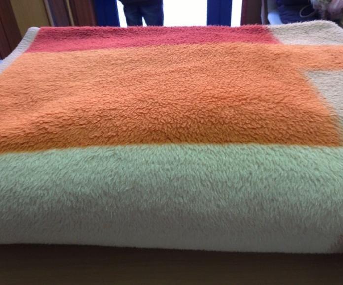 Limpieza de edredones y mantas: Servicios  de Tintorería Anubis